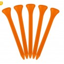 Plastic Golf Tees 70mm (Made in the UK)