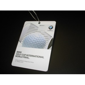 Dibond Golf Bag Tags Full Colour Print- 1 Side