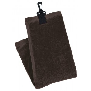Economy Golf Towel - Plain Black