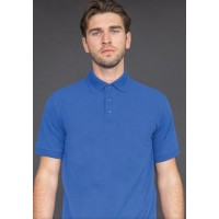 Embroidered Polo Shirt - Henbury Polyester / Cotton HB400