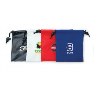Empty Leatherette Golf Gift  Bag-LDGBE