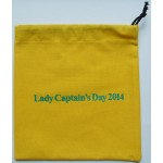 Captains Day Drawstring Cotton Bag