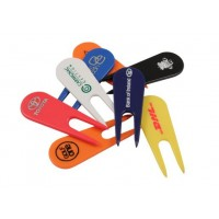 plastic pitch mark repair tool-printed 1 colour in Bulk