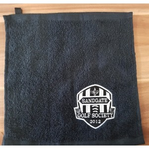 Towel Caddie Towel Embroidered