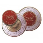 Yardage Enamel Ball Holder + Marker