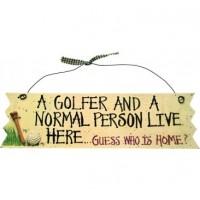 Novelty Golf Wall Sign