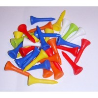 Plastic Golf Tees (Made in the UK) x 20