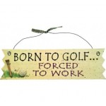 Novelty Golf Wall Signs