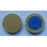 Enamel Ball Marker + Wood Holder