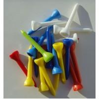 Plastic Golf Tees - End of Line x 20