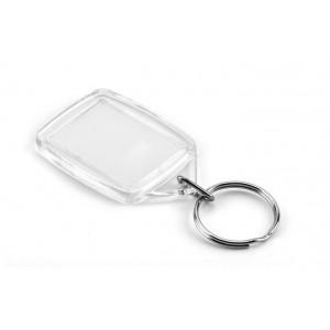 Plastic Keyring - Blank