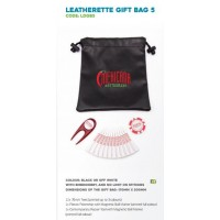 Leatherette Golf Gift  Bag-LDGB5