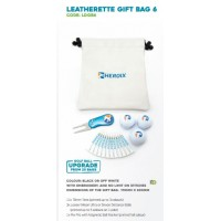 Leatherette Golf Gift  Bag-LDGB6