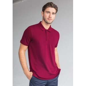 Embroidered Polo Shirt - Henbury 100% Cotton HB101
