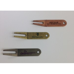 Bent Metal Pitch Mark Repair Tool-Printed 1 colour