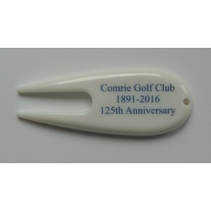white plastic pitch mark repair tool-Full Colour