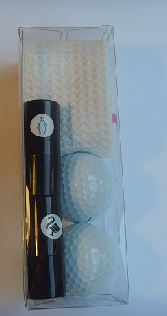 golf ball stamp gift box
